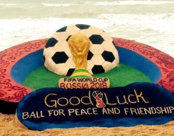 FIFA Footbal World Cup 2018 on the Sea