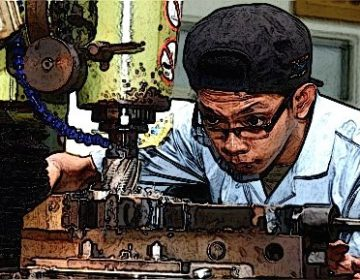 Student on Technical Work