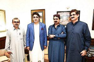 Malik Asad Sikandar with Bilawal Bhutto