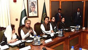 Imran Khan in Meeting Room