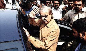 Shahbaz Sharif Arrested