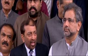 Farooq Sattar and Shahid Khaqan Abbasi