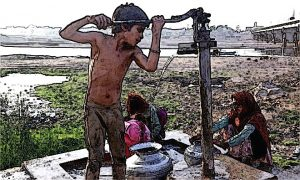 Shortage of Water in Sindh