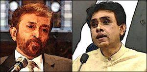 Farooq Sattar and Khalid Maqbool