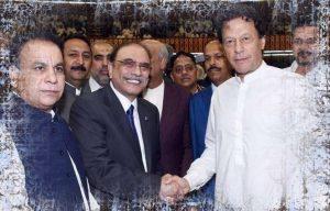 Imran Khan and Asif Ali Zardari