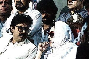 Asif Ali Zardari and Benazir Bhutto
