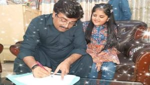 Sindh Education Minister with Her Daughter