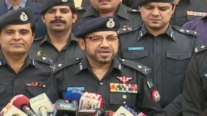 Sindh Police Chief with Press