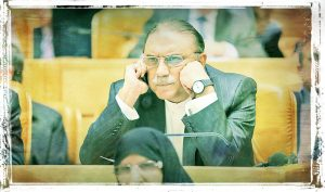 Asif Ali Zardari in Worry Mode