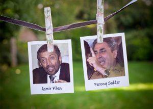 Aamir Khan and Farooq Sattar