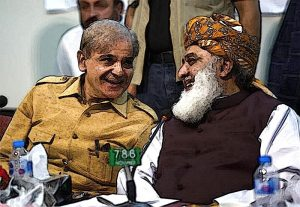 Shahbaz Sharif and Molana Fazal ur Rehman