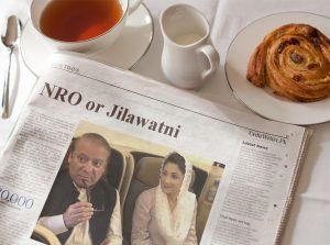 NRO or Jilawatni News on Newspaper