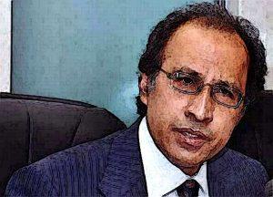 Abdul Hafeez Shaikh in Meeting