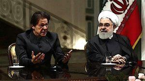 Imran Khan And Hassan Rohani in Press Metting