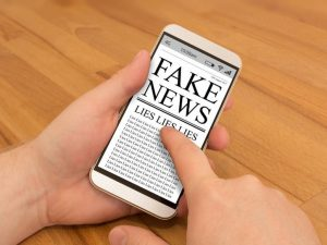 Fake News on Smart Phone