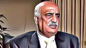 Khursheed Shah Tears