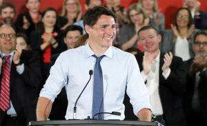 Justin Trudu Election Winner
