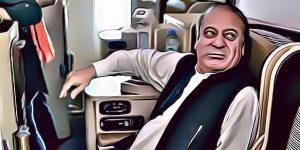 Nawaz Sharif on Air Ambulance