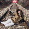 Selfie Obseession Railway Line