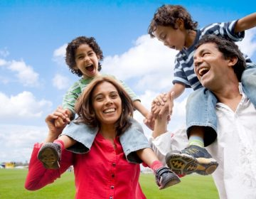 World Parents Day Happy Family