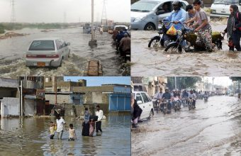 Karachi Under Attack on Heavy Rain