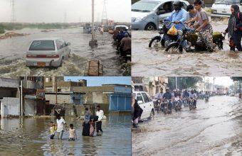 Karachi Under Attack on Heavy Rain