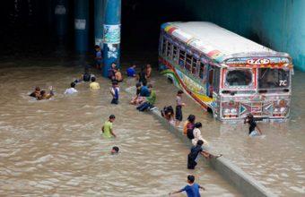Karachi in Heavy Rain