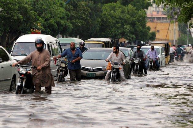 Karachi after Thunder Rain